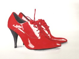 Laura's Red Shoes